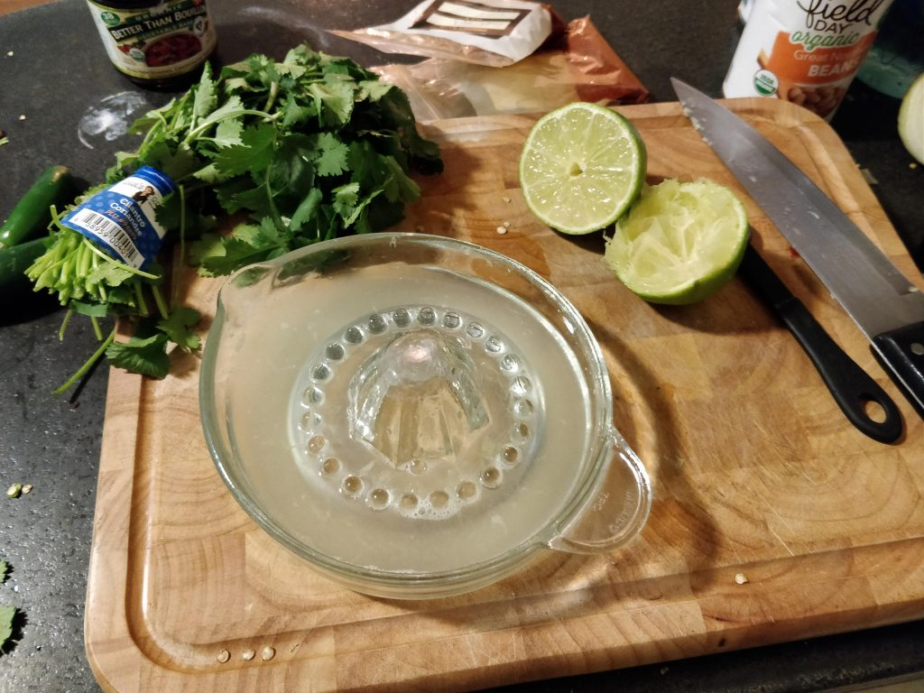 limes for chicken chili